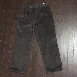 Geoffrey Beene brown corduroy pants
